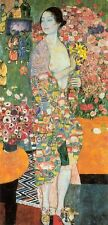Art Nouveau Gustav Klimt The Dancer  Giclee Art Canvas Print