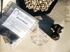 Mandragore vrai pure mise en bourse talisman de protection ésotérisme magie Rare