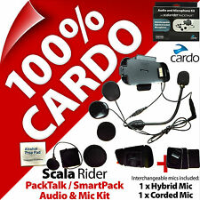 Cardo Scala Rider Audio & Mic Accessory Kit packtalk/SmartPack Helm Gegensprecha...