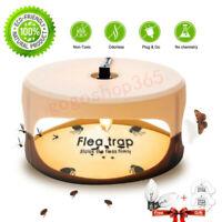 Electric Flea Trap Killer Home Pest Control Sticky Discs Spare Lamp Non-toxic