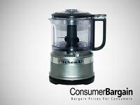 KitchenAid KFC3516CU 3.5 Cup Mini Food Processor Guaranteed Refurbished BPA-Free
