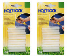 2x Hozelock 2621 Car Care Shampoo Soap Sticks Wax for Car Brushes - Pack of 10