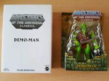 MOTU Masters Of The Universe Classics Demo-Man erste 1st Auflage Neu Rar
