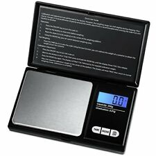Amir Balance de Poche Precision 200g 0.01g Balances Bijoux A Ecran LCD...