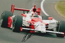 Fan Apparel & Souvenirs Sports Mem, Cards & Fan Shop Supply Helio Castroneves Hand Signed 12x8 Photo Indy 500 Legend 5.