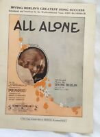 All Alone by Irving Berlin. JC Williamson 'Primrose', Maude Fane 1924 *OZ Ed