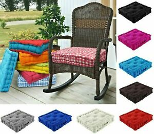 REDUCE TO CLEAR PRICE SALE BOOSTER CUSHION ARMCHAIR CHAIR THICK SEAT PAD 43CM