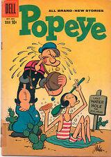 Popeye #50 - Olive Oil Cover - 1959 (Grade 3.5)