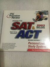 The Princeton Review Inside The Sat and Act 2003 Deluxe