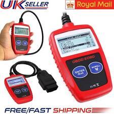 UK Diagnostic Car Engine Fault Code Scanner Reader Reset Tool OBD 2 CAN BUS EOBD