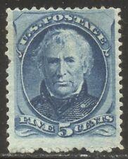 U.S. #185 Mint - 5c Blue ($500)