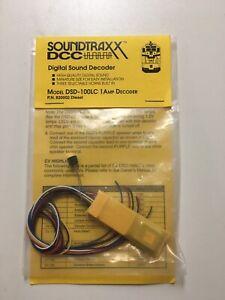 SOUNDTRAXX DSD-100LC  MOBILE SOUND DECOIDER