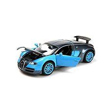 style 1:32 Bugatti Veyron Alloy Diecast car model collection light&sound Blue