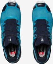 Salomon Speedcross 5 Mens Blue Black Trail Running Sneakers Trainers Size 409258