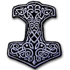 Thor Viking Patch Iron on Hammer Superhero Movie Badge Sew Comics Cartoon Biker