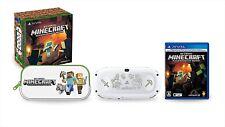 Sony Playstation Vita Minecraft Edizione Speciale Pacchetto Console Pchj-10031