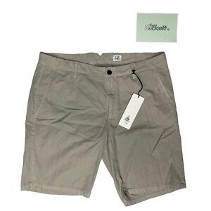 C.P. Company Paloma Cotton Beige Shorts Garment Dyed Size 52 RRP £180 BNWT