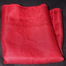 Essential Home Textures Holiday Table Napkins/Napkin Set RED 4-pack