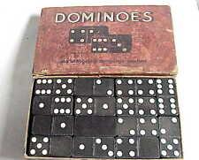 VERY Vintage Dominoes Game Set