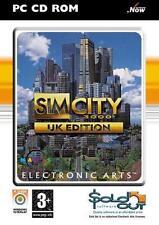 SIM CITY 3000 - UK EDITION   PC   DVD Version   ink. Key   NEU & OVP   USK18