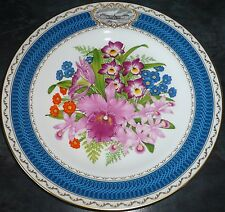 1986 Chelsea Flower Show Plate  By Spode.  Royal Horticultural Society, Perfect
