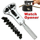 Adjustable Watch Back Case Opener Wrench Repair Screw Remover Watchmaker Tool