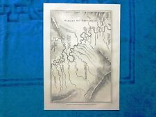 Gravure Année 1864 - Traversée de l'Amerique du Sud, par Paul Marcoy