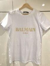 Homme Balmain Tshirt blanc muscle fit Small