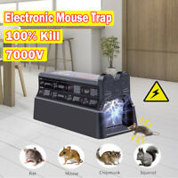 Electronic Mouse Trap Victor Control Rat Killer Pest Electric Rodent Zapper