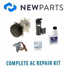 Jeep Wrangler 1989-1990 2.5L NEW AC A/C Repair Kit with Compressor & Clutch