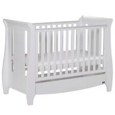 Tutti Bambini Katie Mini Sleigh Cotbed - White
