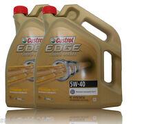 Castrol EDGE FST Turbo Diesel 5W-40 Motoröl  2x5 Liter BMW LL04, VW 50501