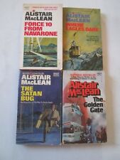ALISTAIR MACLEAN LOT OF 4 PAPERBACKS Force 10 from Navarone Where Eagles Dare PB