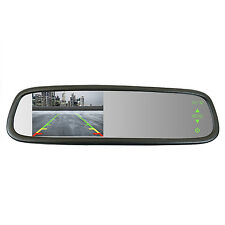 "Master Tailgaters Sleek Style Rear View Mirror with Ultra Bright 4.3"" Auto LCD"