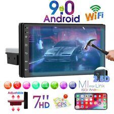 7'' 1 Din Android 9.0 Autoradio Radio 2.5D Car MP5 Player Bluetooth WIFI GPS FM