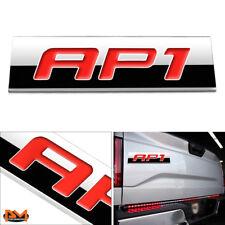 """AP1"" Polished Metal 3D Decal Red Emblem Exterior Sticker For 00-03 Honda S2000"