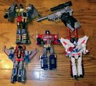 Masterpiece Transformers lot Megatron, Optimus Prime, Starscream, Grimlock, Jetf