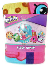 "Moose Enterprises ""Shopkins"" Pink Plush Throw (46 in. X 60 in.)"