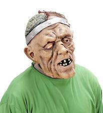 Hombre Máscara Zombie ABIERTO cerebro MONSTER Látex Terror Halloween Disfraz