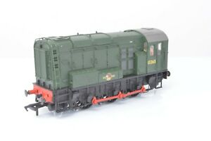 Bachmann OO Gauge - 32-100 BR Green Class 08 Diesel Shunter 13365 - DCC Fitted