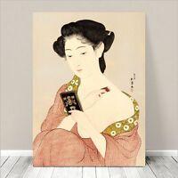 """Beautiful Japanese GEISHA Art ~ CANVAS PRINT 8x12"""" Makeup"""