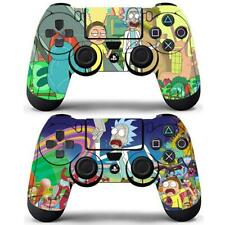 2 Packs PS4 Controllers Dualshock Skin Rick and Morty Vinyl Decal Sticker Cover
