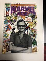 Marvel Age (1989) # (41 NM) Stan The Man Lee