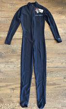 NeoSport Unisex MEDIUM Full Body Long Sleeve Wetsuit Sport Skins Black UV 50+
