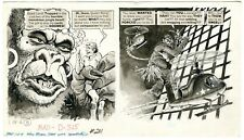 "Harry North Original Art, Mad #211 (EC 12/1979) ""When Women Take Over Movies"" A"