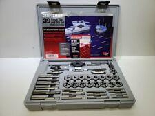 Sears Craftsman 9 52383 39-Piece Tap & Die Set - Metric w/ Hard Case COMPLETE