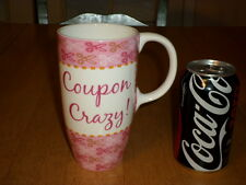 COUPON CRAZY !, Ceramic Coffee Mug, Vintage