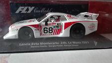 FLY SLOT  88239 LANCIA BETA MONTECARLO #68 24H LE MANS 1981