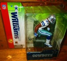 McFarlane Roy Williams NFL Series 10 Debut Cowboys White Jersey Figure 2004