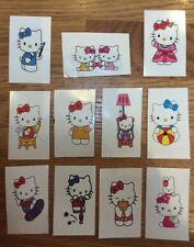12 HELLO KITTY Temporary Tattoos  Girls Party Loot Bag Stocking Fillers